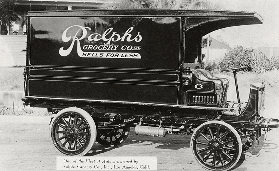Bizarre Los Angeles Page Liked · November 4, 2012 · A Ralphs Grocery truck, circa 1919.
