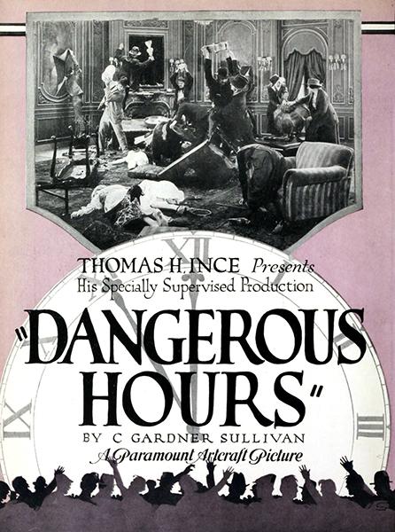 Dangerous Hours (1919). Bizarre Los Angeles