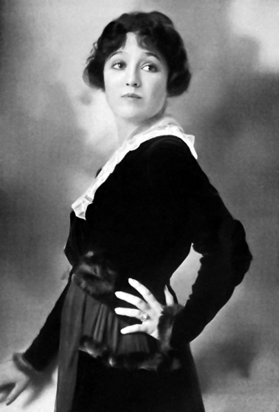 """And I want you to know that I consider Edith Storey the greatest Moving Pictures actress. To me, her work seems simply wonderful; and if I can ever achieve the heights she has I will be content."" -- Dorothy Kelly (Bizarre Los Angeles)"