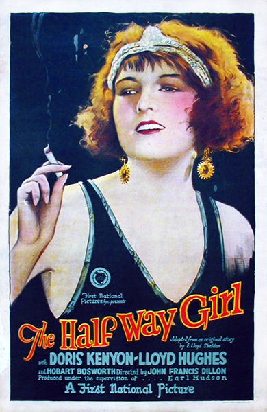 The Half Way Girl 1925