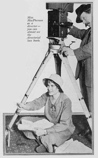 Jeanie MacPherson directing