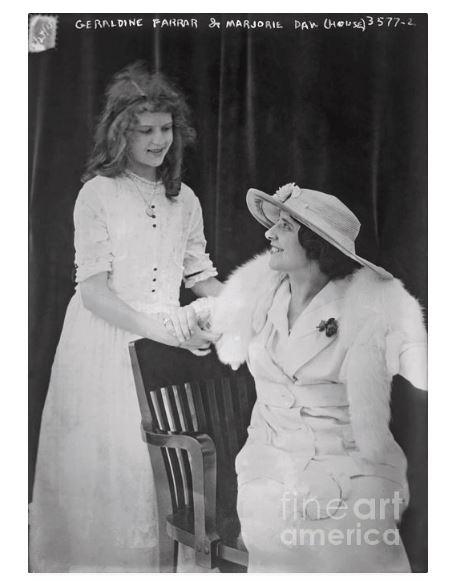 Marjorie Daw Geraldine Farrar