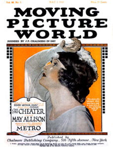 """May Allison on the cover of """"Picture World"""" (1920). Bizarre Los Angeles"""