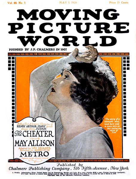 "May Allison on the cover of ""Picture World"" (1920). Bizarre Los Angeles"
