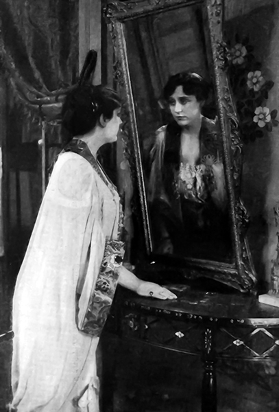 Olga Petrova mirror reflection