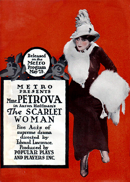 The Scarlet Woman Olga Petrova 1916