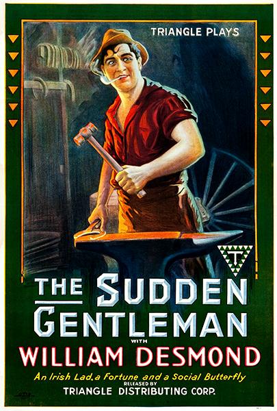 The Sudden Gentleman 1917 William Desmond