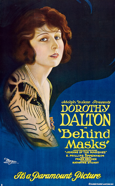 Behind Masks 1921