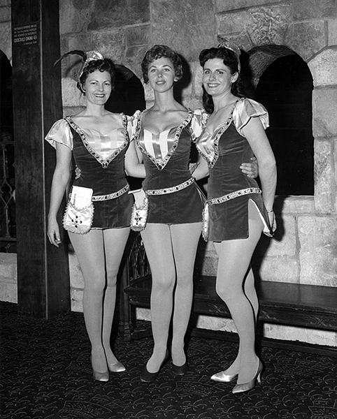 Cave Club waitresses