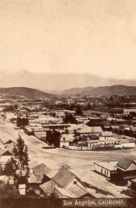Sonora Town Broadway Street Los Angeles 1871