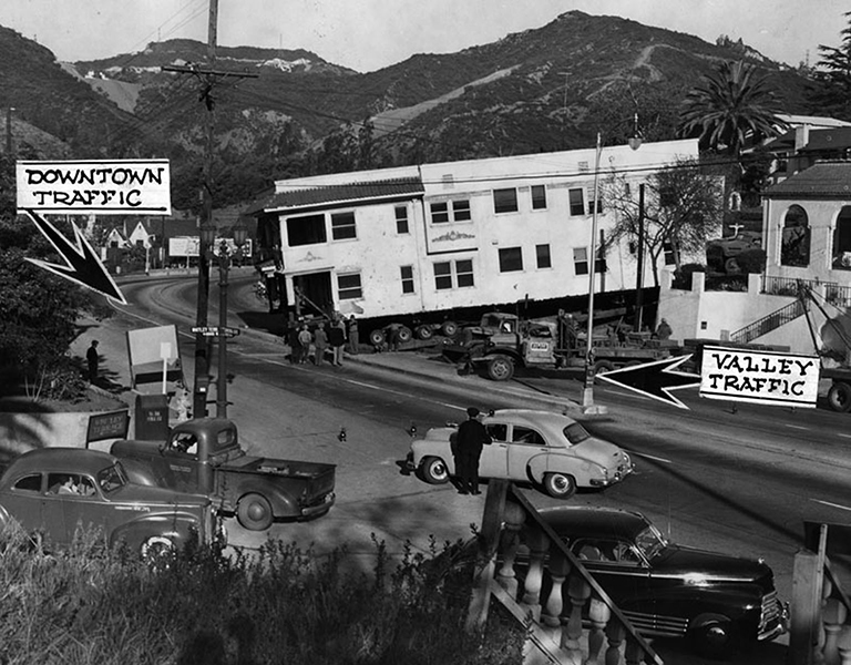 Hollywood Traffic Jam