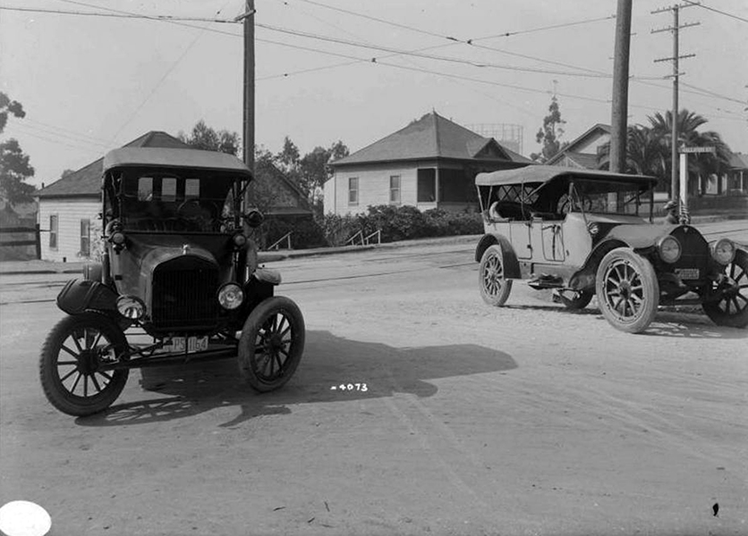 Traffic Accident 1917