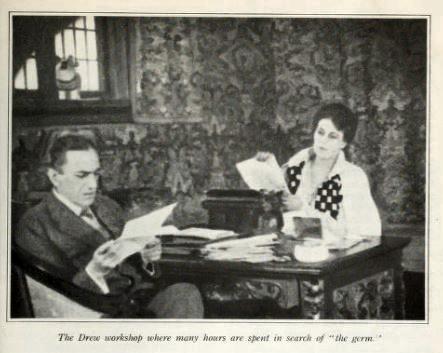 Mr. and Mrs. Sidney Drew study
