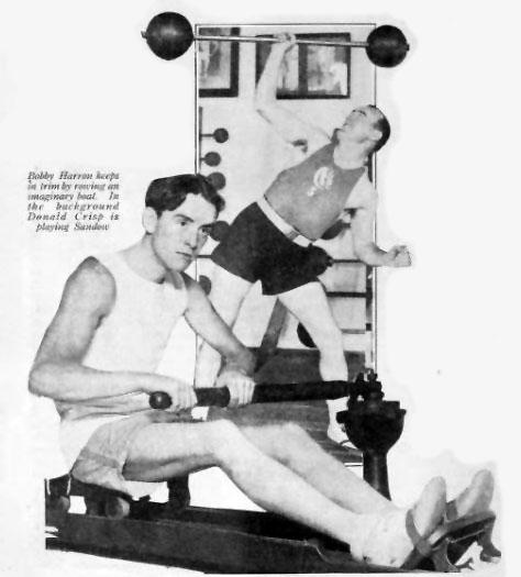 Los Angeles Athletic Club Bobby Harron Donald Crisp