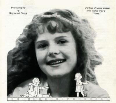Young Marjorie Daw