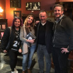 Craig Owens with podcasters Hollyweird Paranormal and Ghosting Around at the Mystic Museum.