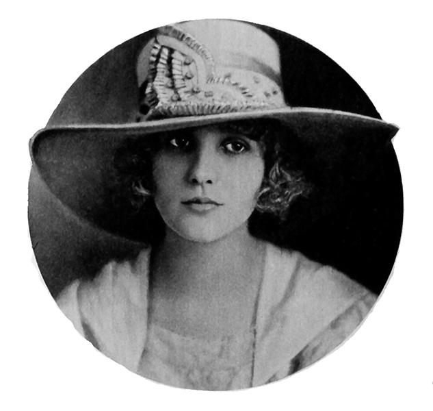 Louise Huff in 1918 (Bizarre Los Angeles)