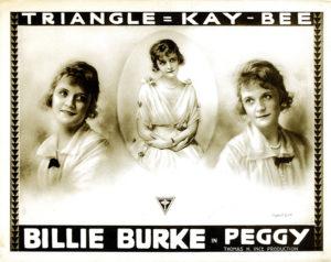 Billie Burke Peggy 1914