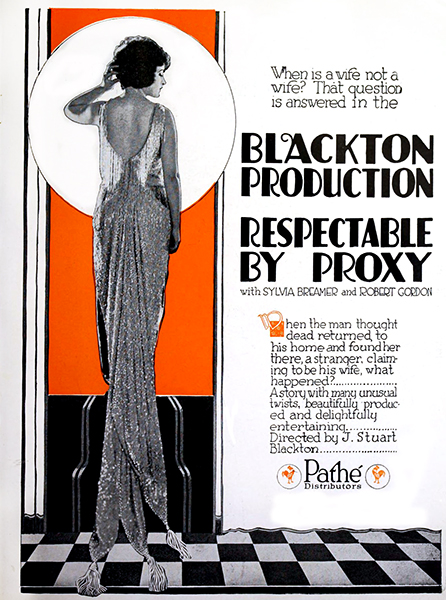 Respectable by Proxy 1920