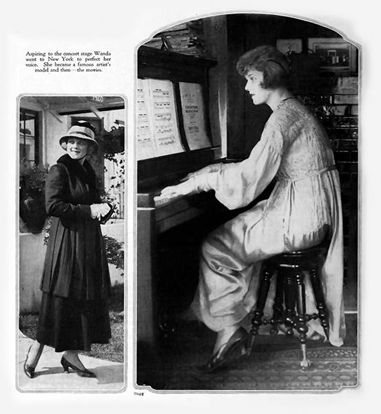 Wanda Hawley piano