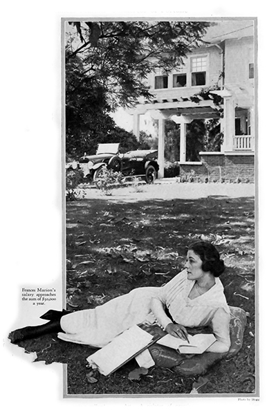 Frances marion reclining
