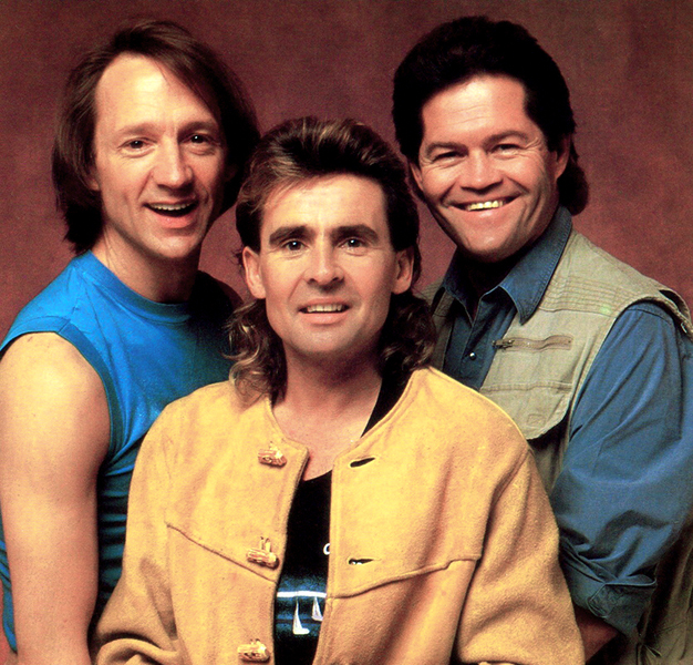The Monkees in 1987 (Bizarre Los Angeles)