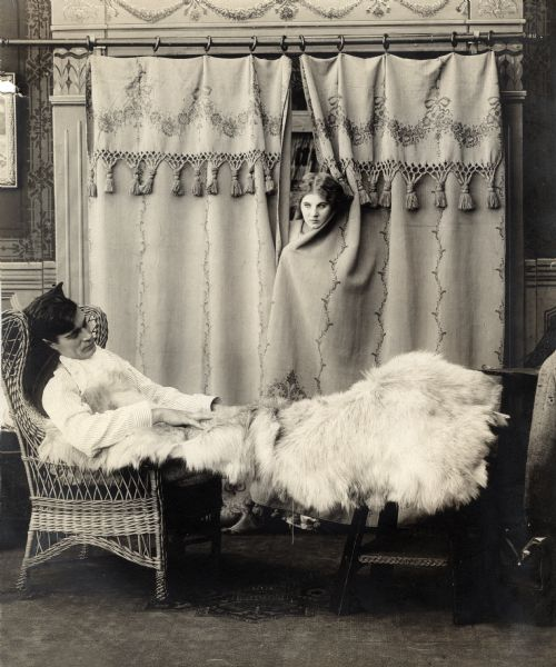One on Reno (1911) with Albert V. Johnson and Florence Lawrence. (Bizarre Los Angeles)