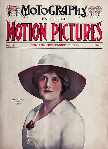 Ormi Hawley Magazine Cover 1913