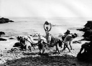 Dancers at Laguna Beach in Orange County, c. 1930. (LAPL) Bizarre Los Angeles