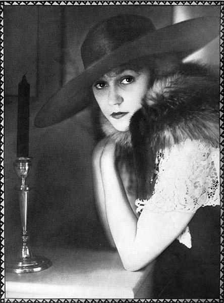 """It's all very well to be a movie star, but it's nicer to be a 'legitimate star.'"" -- Alice Brady in 1919. (Bizarre Los Angeles)"