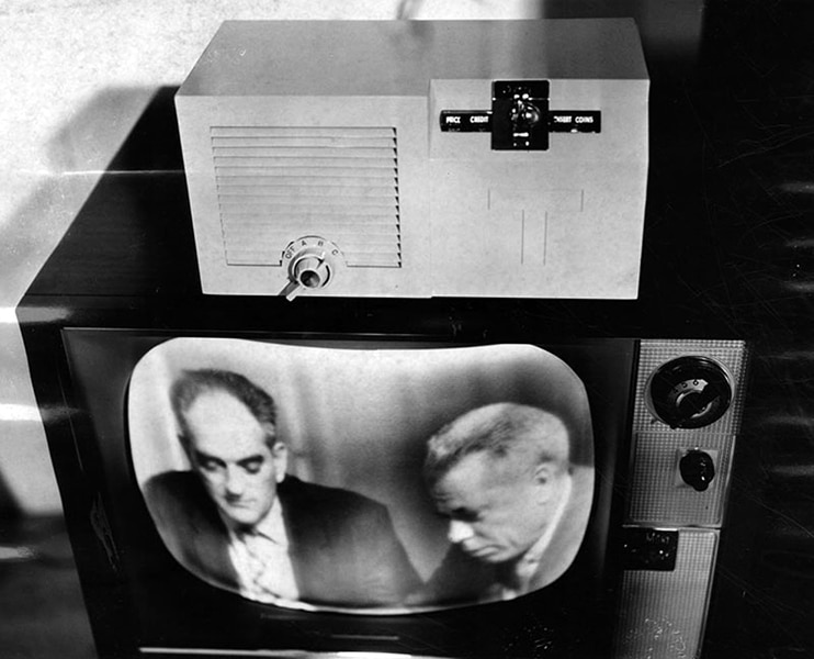 Pay television in 1957. (LAPL 00046569) Bizarre Los Angeles