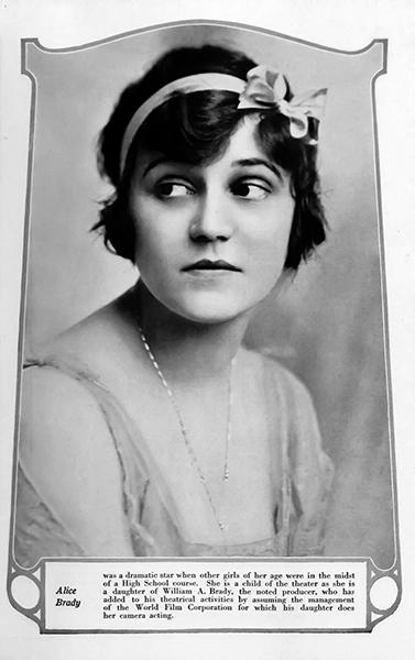 Alice Brady (Bizarre Los Angeles)
