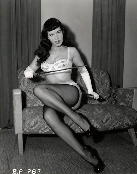 Betty Page Photos: Bizarre Los Angeles