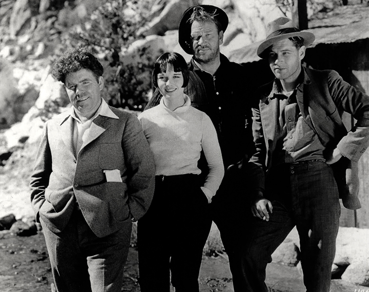 Jim Tully Louise Brooks Wallace Beery Richard Arlen