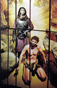 Planet of the Apes exhibit at the Hollywood Wax Museum, c. 1970s. Bizarre Los Angeles.