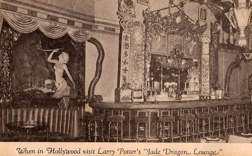 Jade Dragon Lounge 1940s