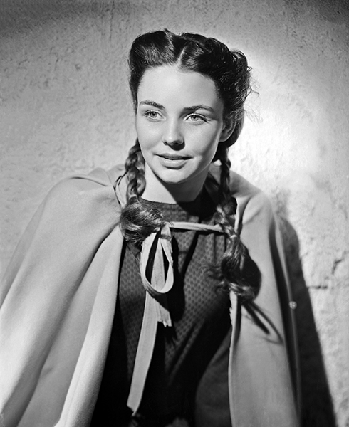 Jennifer Jones Song of Bernadette