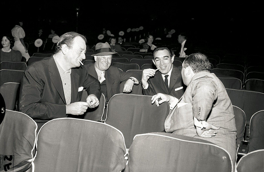 John Wayne Maurice Chevalier Anthony Quinn Pantages