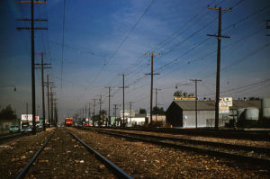 Kodachrome Slides - Pacific Electric 1541 Los Angeles CA 1961