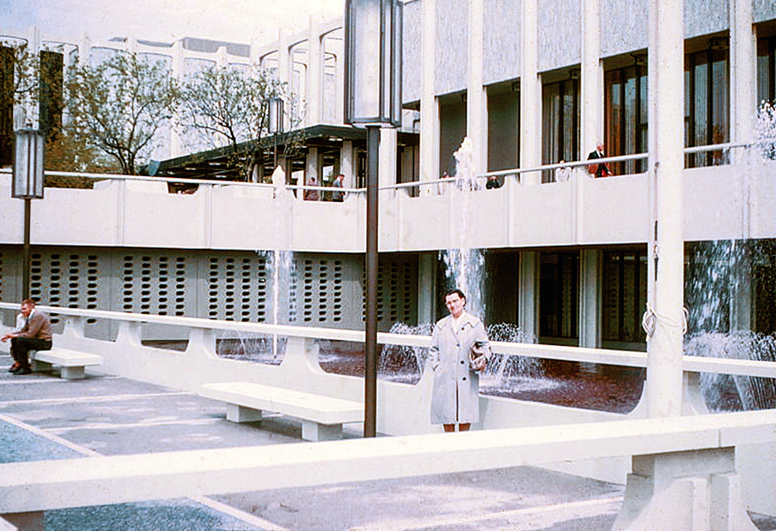 LACMA Los Angeles County Museum of Art 1965