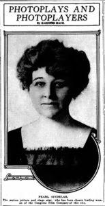 Pearl Sindalar 1915