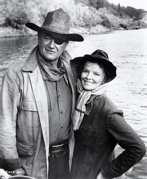 Rooster Cogburn Katharine Hepburn John Wayne