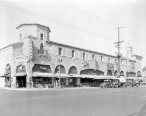 Sunset Blvd. and Laurel Canyon, circa 1932. Photographer: Harold A. Parker. [Huntington Library Archive] Bizarre Los Angeles