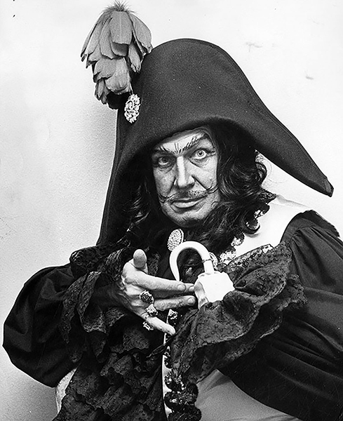 Vincent Price Captain Hook