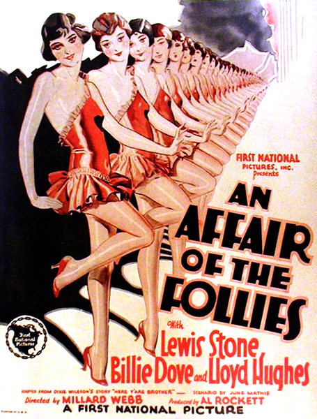 An Affair of the Follies 1927