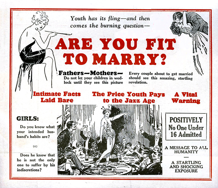 Are You Fit to be Married? 1927