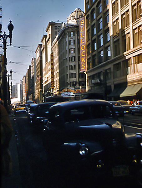 Broadway Street 7th 1956