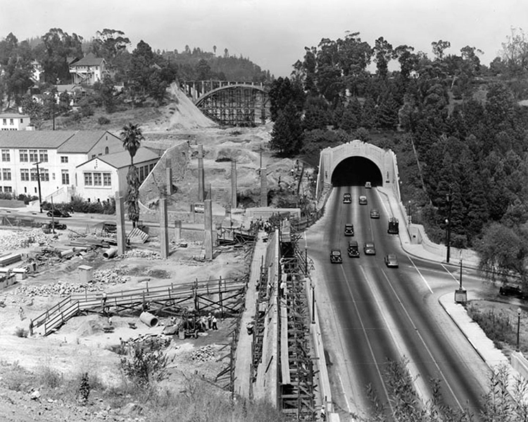 Figueroa Tunnel 1941