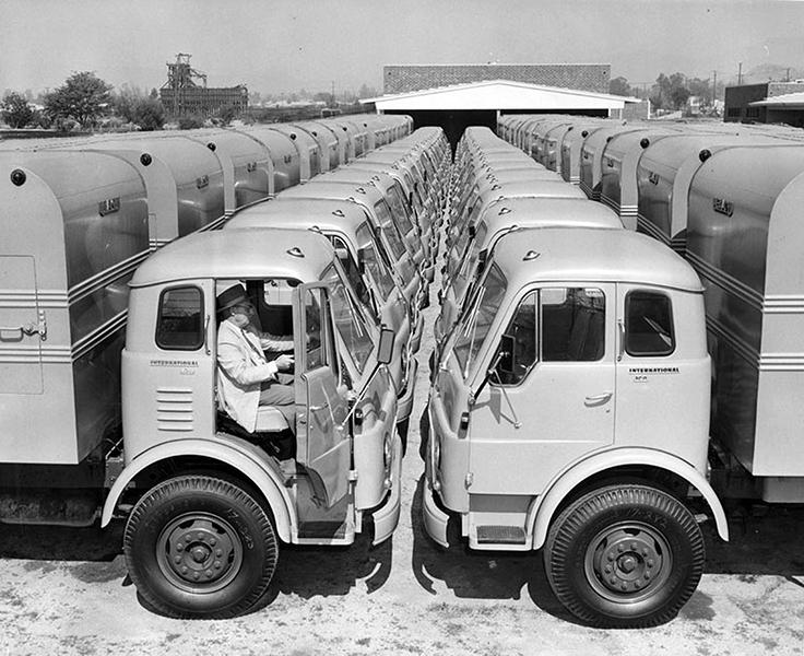 1957 garbage trucks