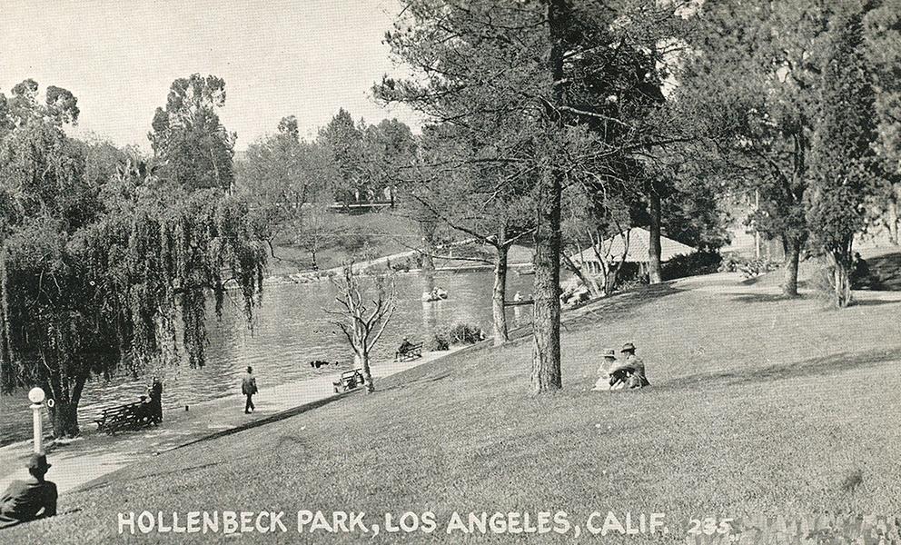 Hollenbeck Park 1930s